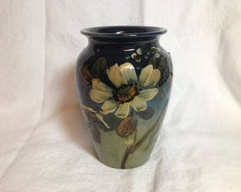 Antique Ceramic Vase, circa 1910-1920, British Arts and Crafts