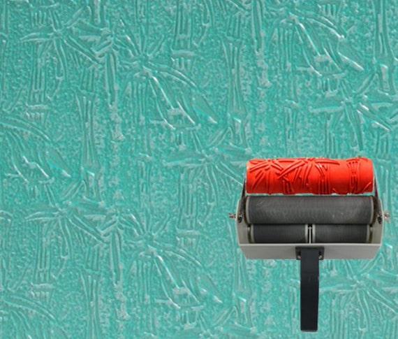 Wall Decoration Roller : Wall decoration bamboo pattern print paint roller by carriecla