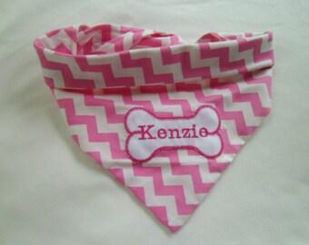 Dog Bandana, Tie On,  Dog Bone Collar, Custom Dog Collar, Birthday gift, dog lover gift, photo shot, Christmas gift, pet gift
