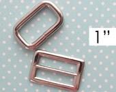 Adjustable Strap Hardware 1 Inch | 26mm Strap Adjuster | Messenger Bag Strap Hardware | Cross Body Bag Strap Adjuster | Bag Hardware
