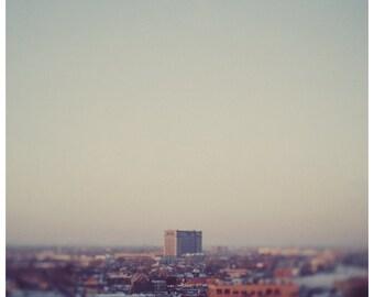 Photography - Detroit - City Photograph - Morning Over Detroit-  Fine Art Photograph - Michigan Grand Central Terminal - Travel