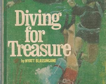 Diving For Treasure - Wyatt Blassingame - 1971 - Vintage Book
