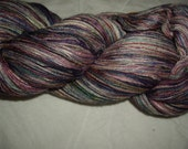 Sultry Tempest Hand Painted Silk Lace Yarn