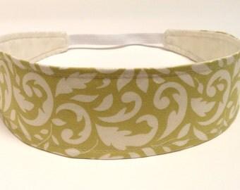 NEW - Reversible Fabric  Headband  -  MELINDA -  Headbands for Women