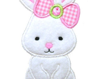 Easter Bunny Applique, Easter Applique, Bunny Embroidery, Easter Embroidery, Bunny Applique, Machine Embroidery Design,  Instant Download