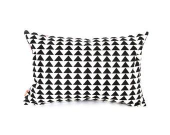 Geometric Pattern Rectangle Pillow
