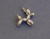 Sterling silver balloon dog pendant