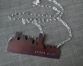 Baltimore Skyline Necklace