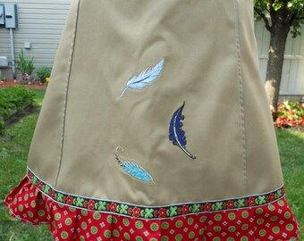 Feather Skirt, Mini Skirt, Patchwork Skirt, hippie patchwork, festival skirt, maxi skirt, mini skirt, short skirt, hippy clothes