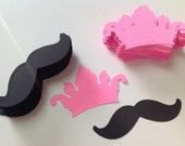Princess Crown Tiaras with mustaches custom order