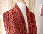 Warble Cowl Knitting Pattern PDF