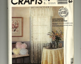Vintage McCall's Lace Essentials Pattern 3503