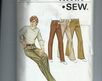 Kwik Sew Men's Jeans Pattern 411