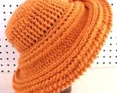 Crochet Pattern, Womens Crochet Hat Pattern, Crochet Wide Brim Hat Women, FRONTIER Wide Brim Hat