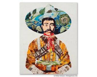 Señor Latino Heritage Wood Print