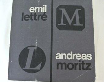 Emil Lettre - Andreas Moritz. Zwei Deutsche Silberschmiede im 20. Jahrhundert SALE