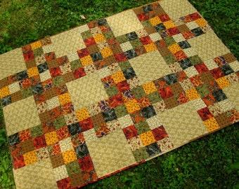 Neutral Squares Quilt