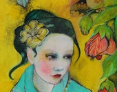 The Beauty That Surrounds You -ACEO  Open edition reproduction by Maria Pace-Wynters