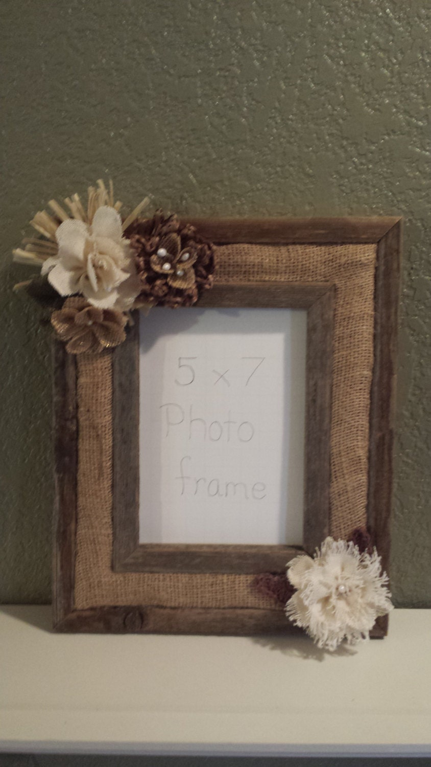 handmade wood picture frames barn wood rustic picture frame handmade burlap flowers 4515