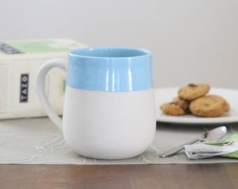 Modern Blue Mug - Naked Mug in Sky Blue 2