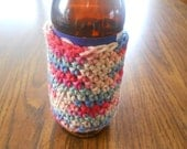 Beer Cozy - Crocheted and Fun - Perfect for Having a Cold one in the Summer at a Ball Game of Picnic