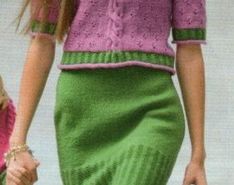 Lovely Set Sweater and Skirt