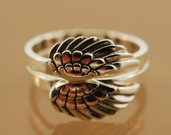 Angel Love Stacking Rings