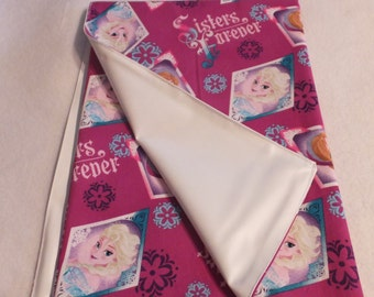 """27""""X27"""" Adult Diaper Changing Pad Frozen Sisters Forever"""