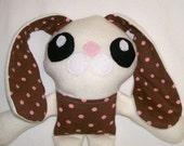 Easter Bunny Rabbit Fluffy Kawaii Cute Tooth Fairy Doll for Girl