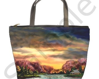Choose 1 of 5 Bucket Bags with Artwork Imprinted by Ave Hurley