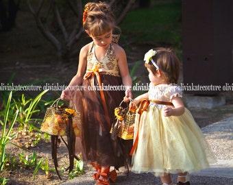 Custom Flower Girl Tutu Dress Weddings