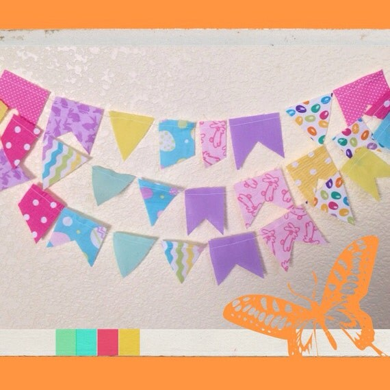 Easter Bunting - Holiday Decor
