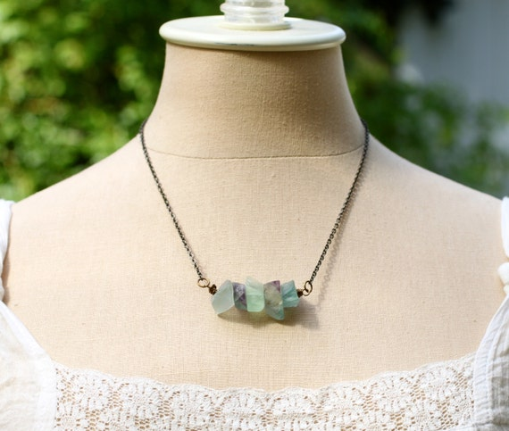 five deep breaths intuition necklace