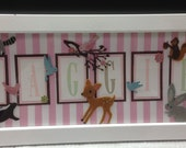 Personalized Name Frames