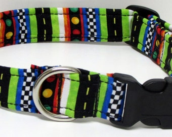 The Finish Line Handmade Dog Collar