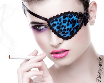 Deluxe Kitty Eye Patch - Pink or Blue