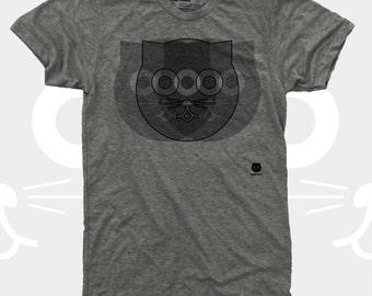 Crazy Watson the Cat Men's TShirt, Tee Shirt, Cat, Crazy Cat, Grey, Mens Cat Shirt, Men Graphic Tee S,M,L,Xl,Xxl (4 Colors) T-Shirt for Men