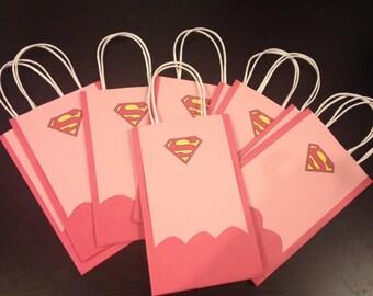 Supergirl Super Hero Goody Bags