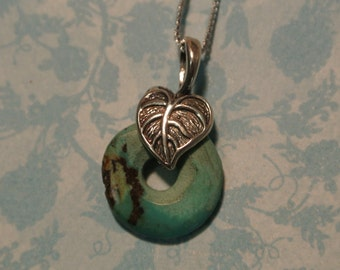 Turquoise in the Round Necklace