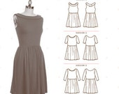 Colette Sewing PATTERN - Moneta - Dress