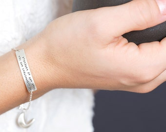 be mischievous and you will not be lonesome - fortune cookie bracelet