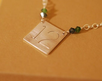 Your Number Sterling Silver Necklace