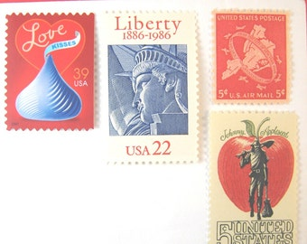 Wedding Postage Stamps Unused, Love Stamps, New York City Postage, Statue of Liberty, Mail 20 NYC Invitations New York Wedding, 71 cent 2 oz