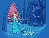 Frozen in Space and Time Notecard (Item 05-316)