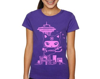 Kid Seattle Citty Ninja T shirts