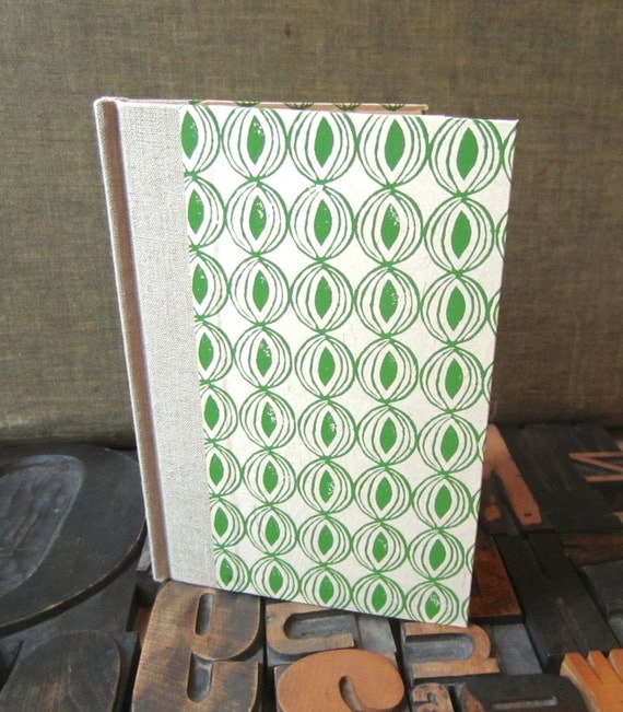 Journal - Large Lined Green Onion