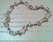 Labradorite and Argentium Sterling Silver Bracelet