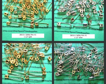 Darice - Safety Pins - assorted sizes - assorted color 1 pkg