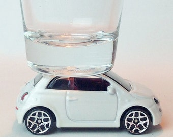 The ORIGINAL Hot Shot, Classic Hot Rods, Shot Glass, Fiat 500, Hot Wheels