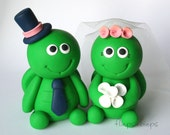 Customise Turtle Wedding Cake Topper